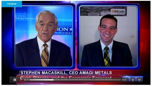 interview with ron paul on gold silver and bitcoin