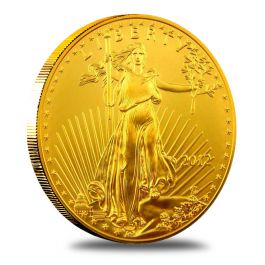 1 2 Oz American Gold Eagle Coin 999