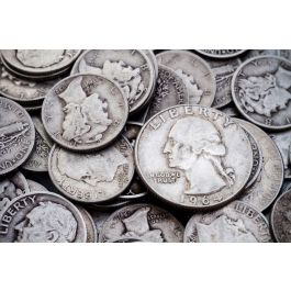 90 Junk Silver Us Coins 0 715 Troy Ounce Fine Silver