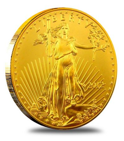 (Random year) 1/2 Oz gold Eagle United States  Front