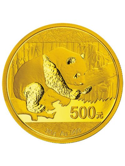 30 Gram 2016 Gold Chinese Panda Coin