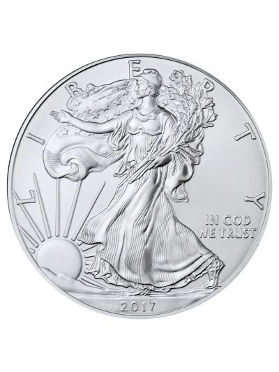 1 Oz 2017 American Silver Eagle Coin