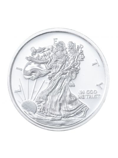 1 Gram Silver Eagle | Walking Liberty Round