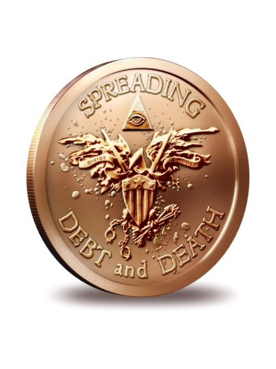 1 Oz Copper Warbird - SBSS -  Round
